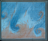 Air currents over the British Isles, 1863