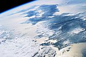 Japan, ISS image