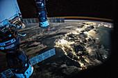 Japan at night, ISS image