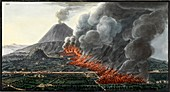 Mount Vesuvius eruption, 1760