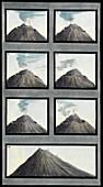 Changes in Mount Vesuvius, July to October 1767