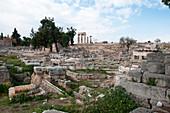 Ruins of Corinth, Greece