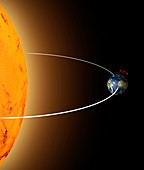 Earth's axial tilt, illustration
