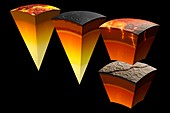 Evolution of Mercury Interior