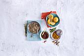 Oriental spice mixtures