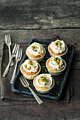 Orange and pistachio nut cupcakes