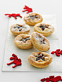 Cranberry Orange Pecan Pies