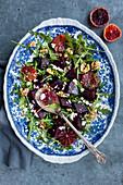 Rote-Bete-Salat mit Blutorangen