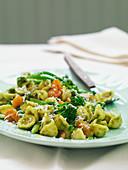 Orecchiette alla pugliese (pasta with broccoli, Italy)