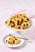 Marzipan cherry cake