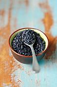 Black lentils (bieluga)