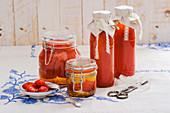 Pelati und Passats (Geschälte Tomaten und passierte Tomaten)