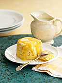 Canary pudding (a steamed sponge pudding, England)