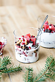 Layered Yogurt Parfait