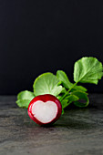 Heart Shaped Radish