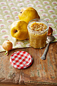 Onion and quince chutney