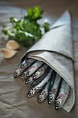 Fresh anchovies (Italy, Sicily)