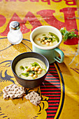 Chickpea vichyssoise