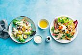 Caesar Salad zweimal anders