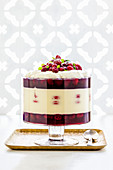 Raspberry and White Chocolate Trifle