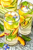 Sommer-Sangria mit Calvados