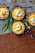 Pineapple coconut tarts (Anzac Day, Australia)