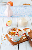 Oat and apple muesli