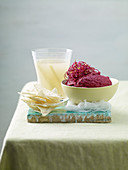 Beetroot Mousse with Ginger