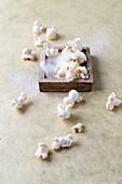 Selbstgemachtes gesalzenes Popcorn