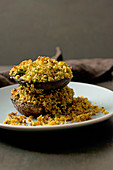Portobello Mushroom Gratin