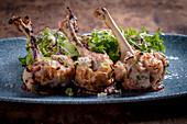 Tandoori Chicken Wings mit scharfer Knoblauchsauce