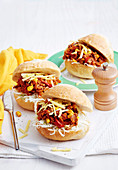 Texan Sloppy Joes with Corn Slaw