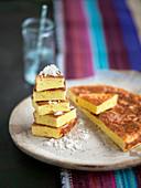 Rafanata materana (potato cake with horseradish, Italy)