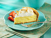 Custard Crumb Pie