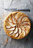 Ricotta and pear torta (gluten free)