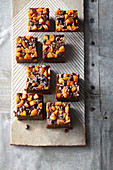 Apricot, almond and chocolate fudge (gluten free)