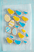 Easter biscuits, view from above