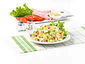 Homestyle Egg Potato Salad