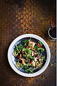 Miso-Lachs mit Zucchininudeln