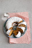 Pflaumenkuchen mit Armagnac