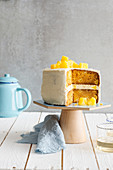 Wholegrain carrot and pineapple cake
