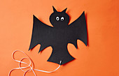 Hanging Bat for Halloween