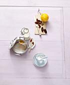 Zutaten für süße Dattelmilch