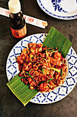 Char Kway Teow - Fried rice noodles (Singapore)