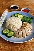 Hainanese Chicken (Singapore)