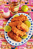 Prawn Paste Chicken – crispy chicken wings