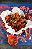 Korean popcorn chicken
