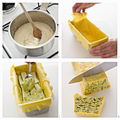Zucchini-Ricotta-Millefeuille zubereiten