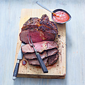 Grilled prime rib