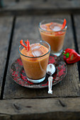 Andalusian gazpacho with peppers